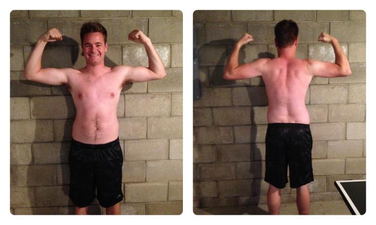 p90x transformation, week 3